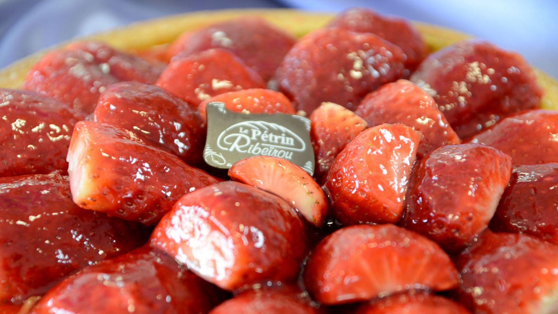 Tarte aux fraises - DSC_0410.JPG