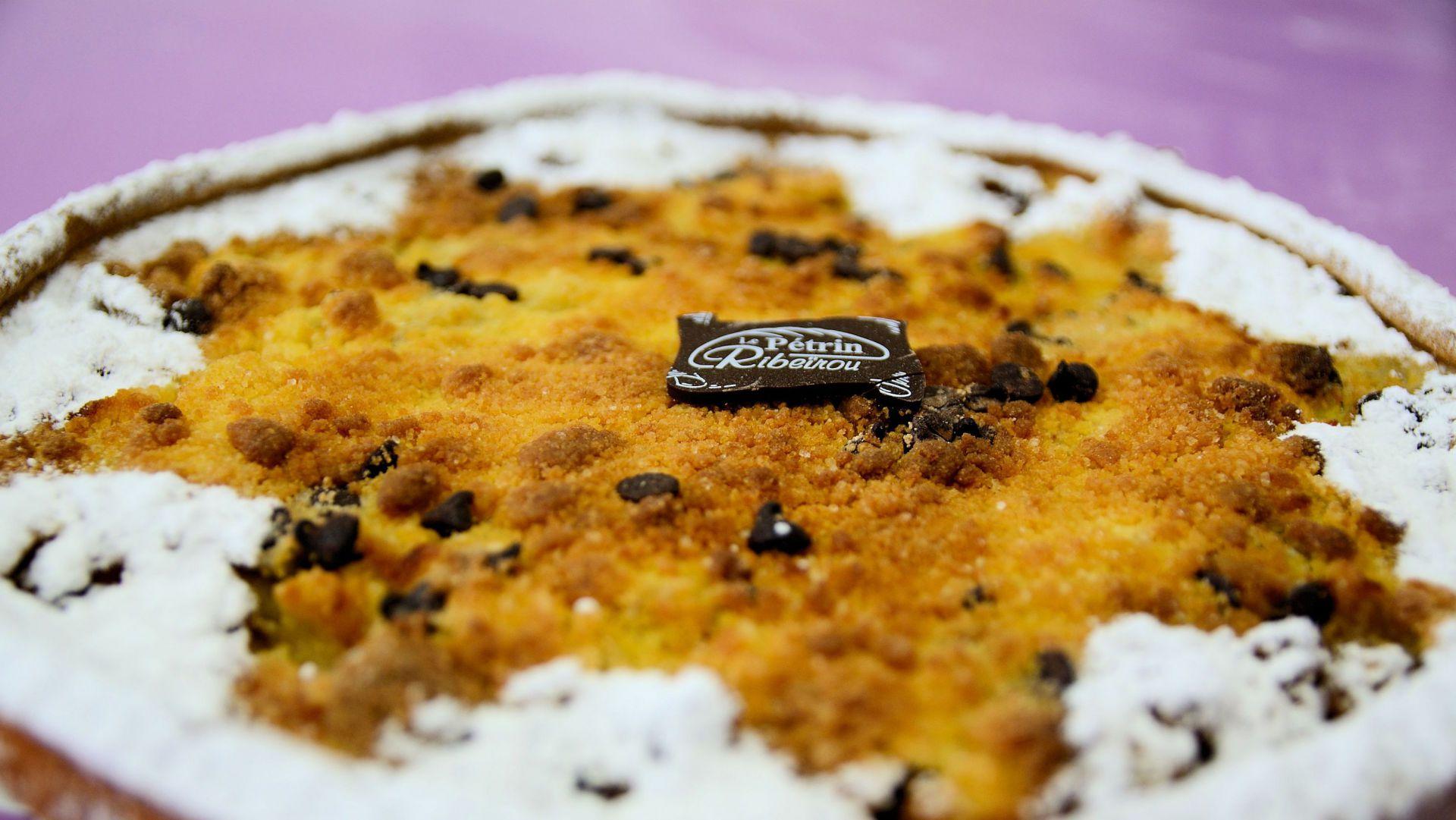 Tarte crumble poire chocolat - DSC_0513.JPG