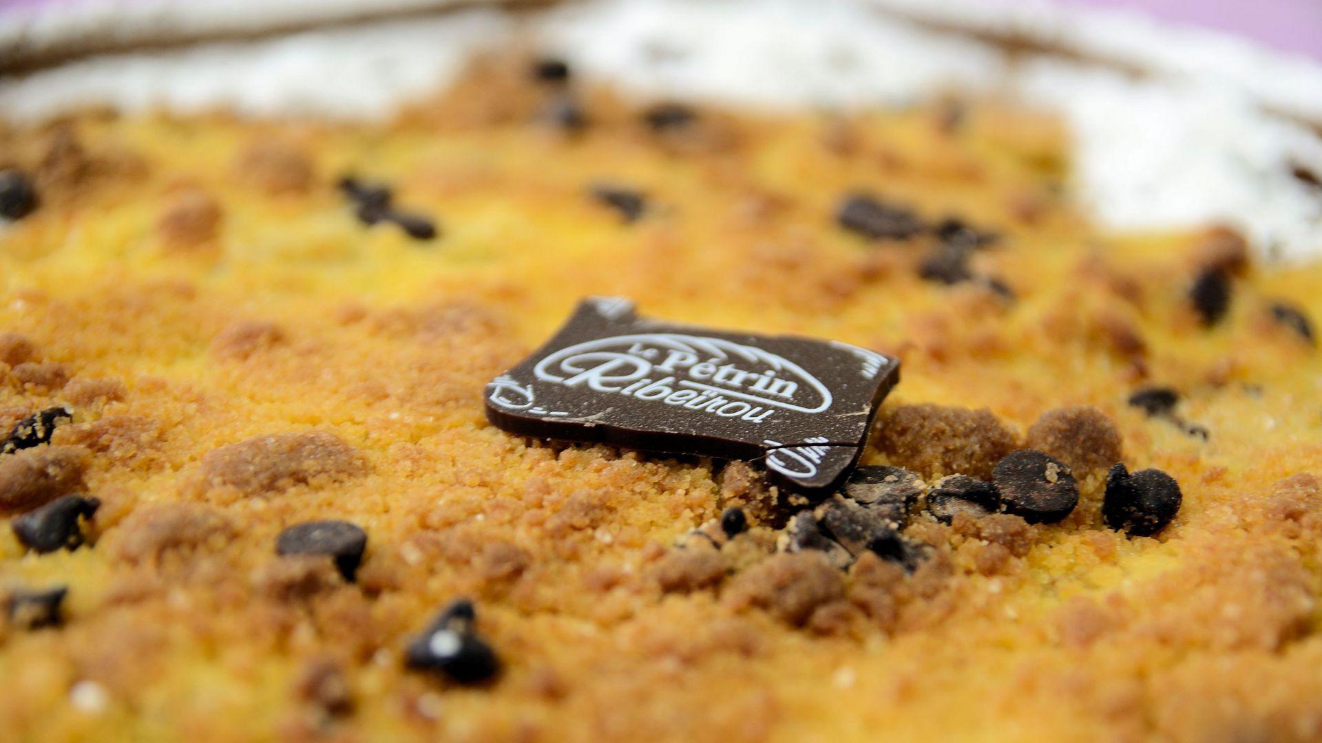 Tarte crumble poire chocolat - DSC_0525.JPG