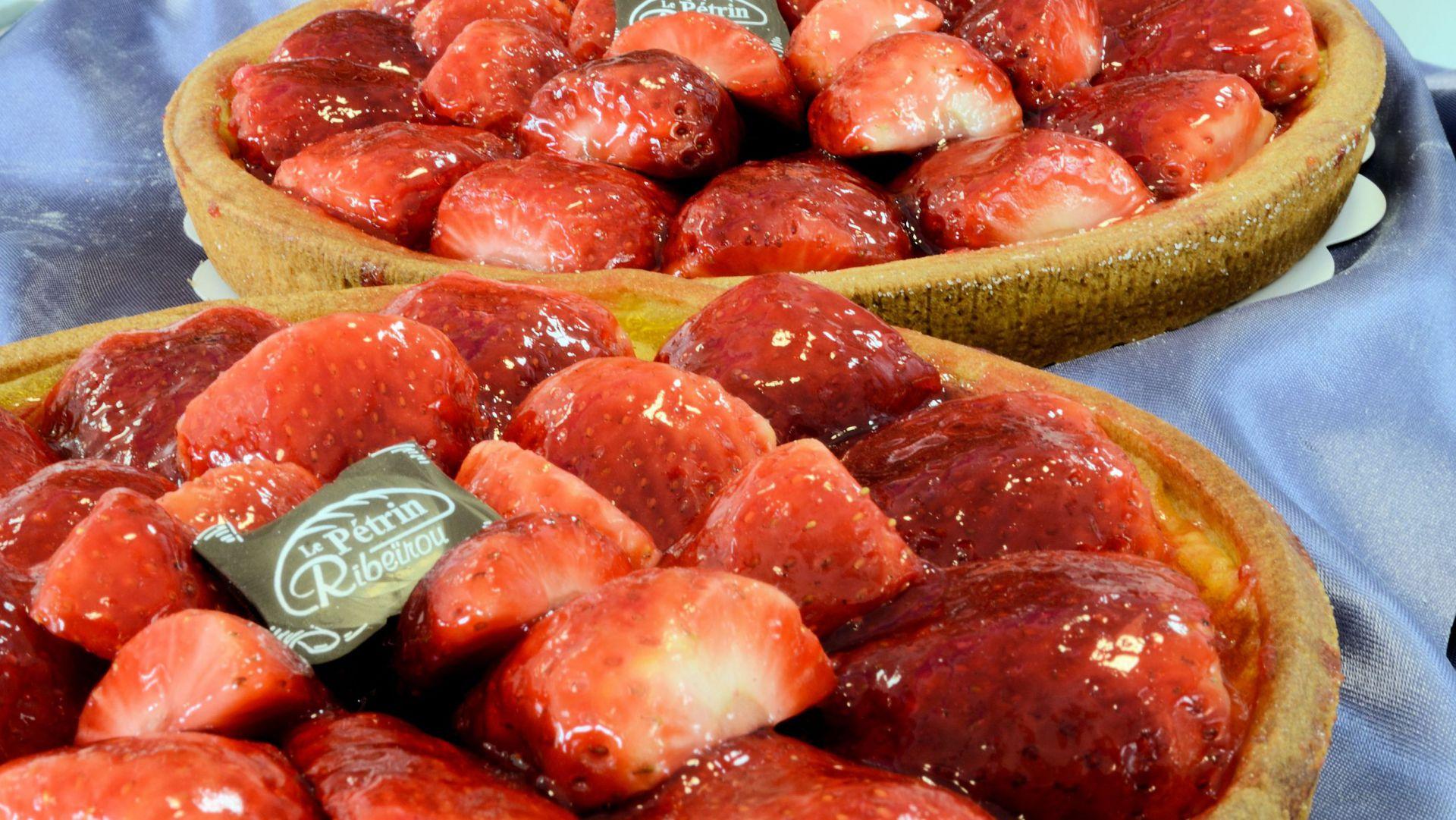 Tarte aux fraises - Tarte aux fraises
